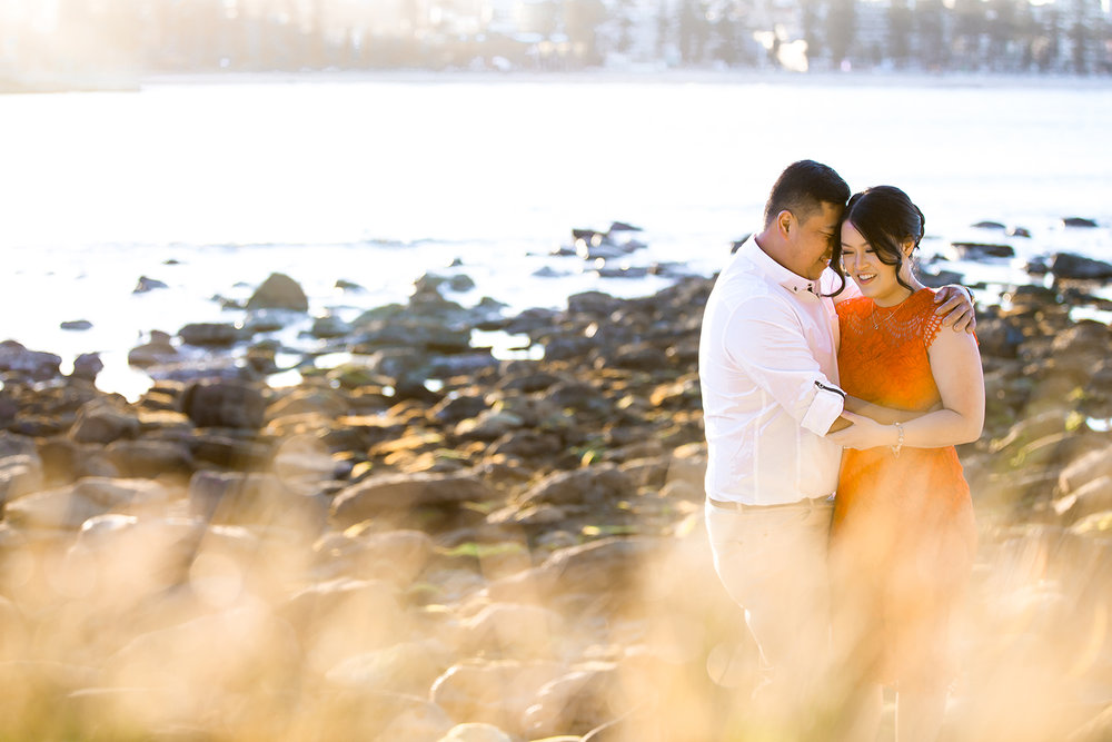 Shelly Beach Manly Pre-Wedding Engagement Session - jennifer Lam Photography (16).jpg