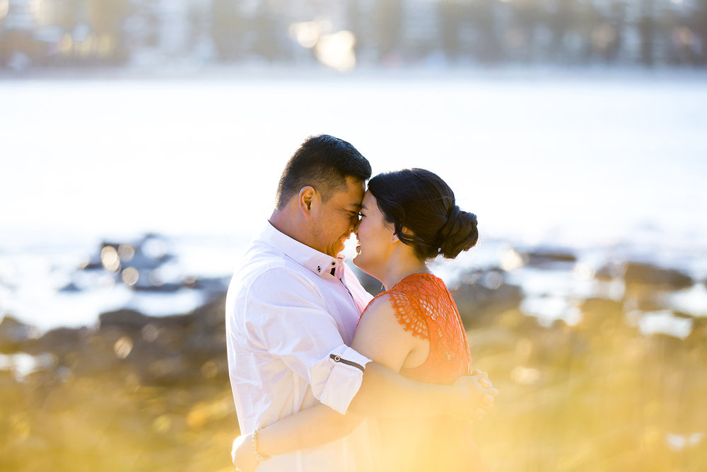 Shelly Beach Manly Pre-Wedding Engagement Session - jennifer Lam Photography (17).jpg