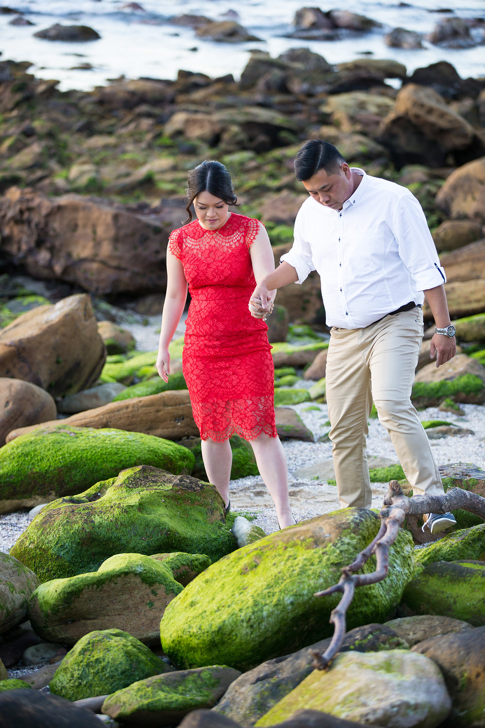 Shelly Beach Manly Pre-Wedding Engagement Session - jennifer Lam Photography (22).jpg