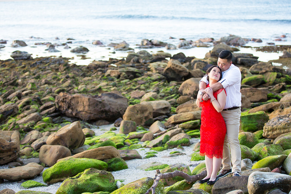 Shelly Beach Manly Pre-Wedding Engagement Session - jennifer Lam Photography (24).jpg