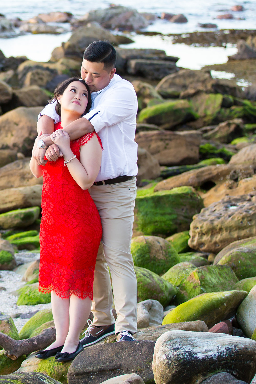Shelly Beach Manly Pre-Wedding Engagement Session - jennifer Lam Photography (25).jpg