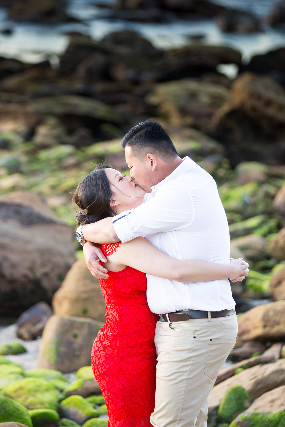 Shelly Beach Manly Pre-Wedding Engagement Session - jennifer Lam Photography (27).jpg