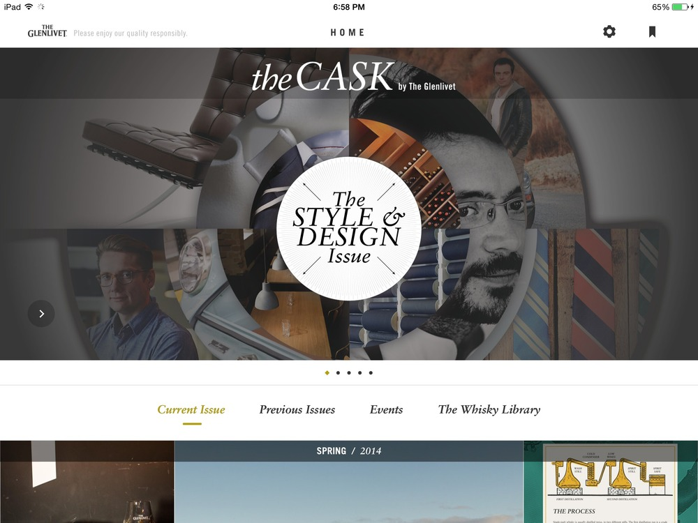 The Cask - A Digital Lifestyle Magazine for Men