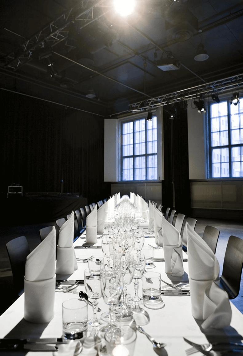 Kulttuuritehdas Korjaamo seminaari-, juhla ja kokoustilat