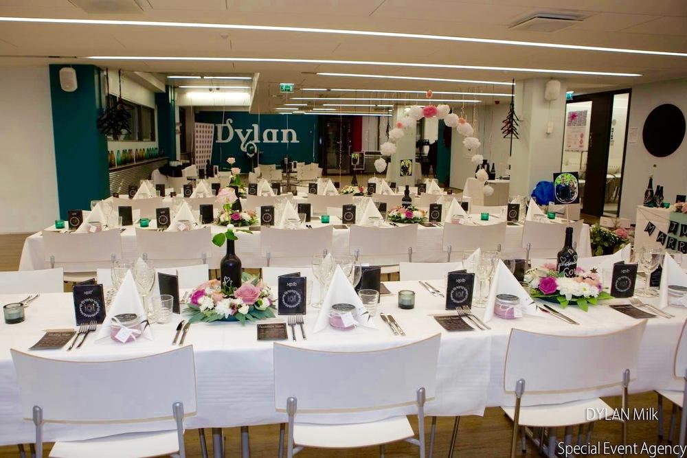 Dylan Milk juhlasali | Soupster Catering