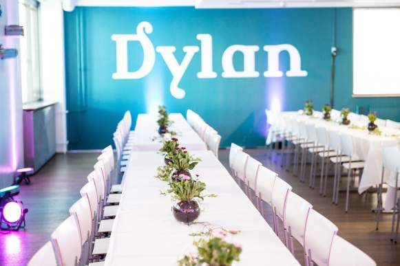 Dylan Milk banquet room
