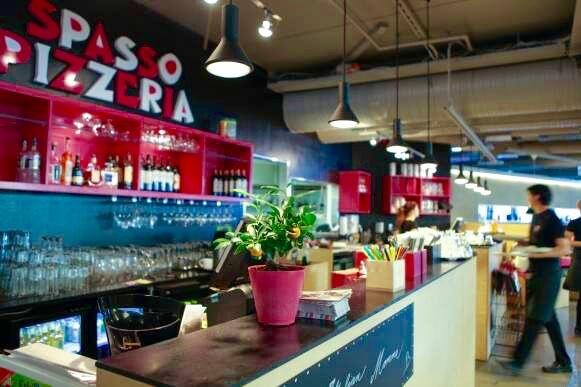 Spasso banquet room