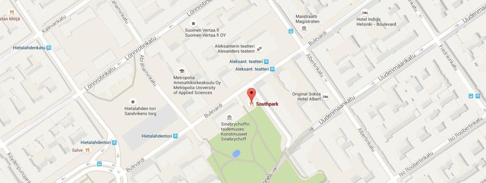 Southpark map