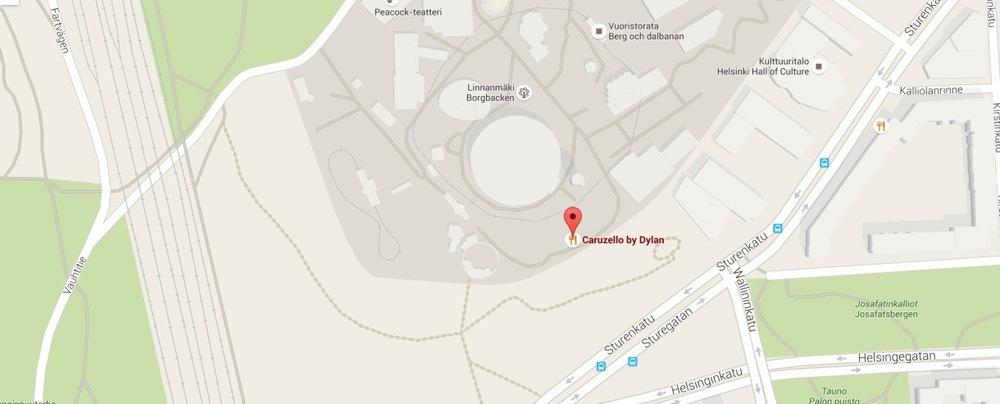 Caruzello map