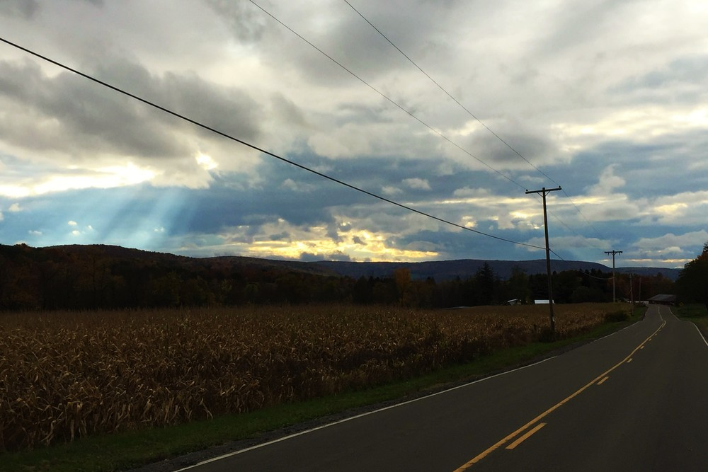 Appreciating the light, even on a difficult road
