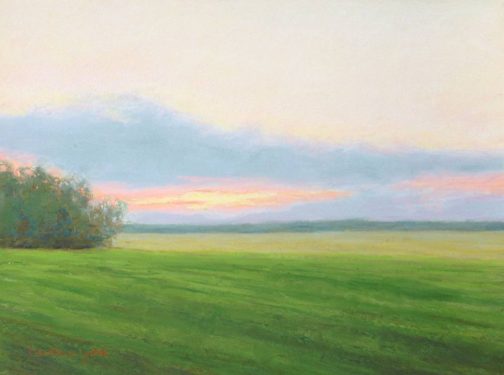Soft Sunset - SOLD