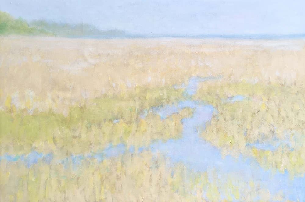 Estuary - Soft Morning Light     20 x 30 inches     oil on canvas