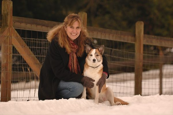 Scotti and Denali, Christmas 2008.jpg