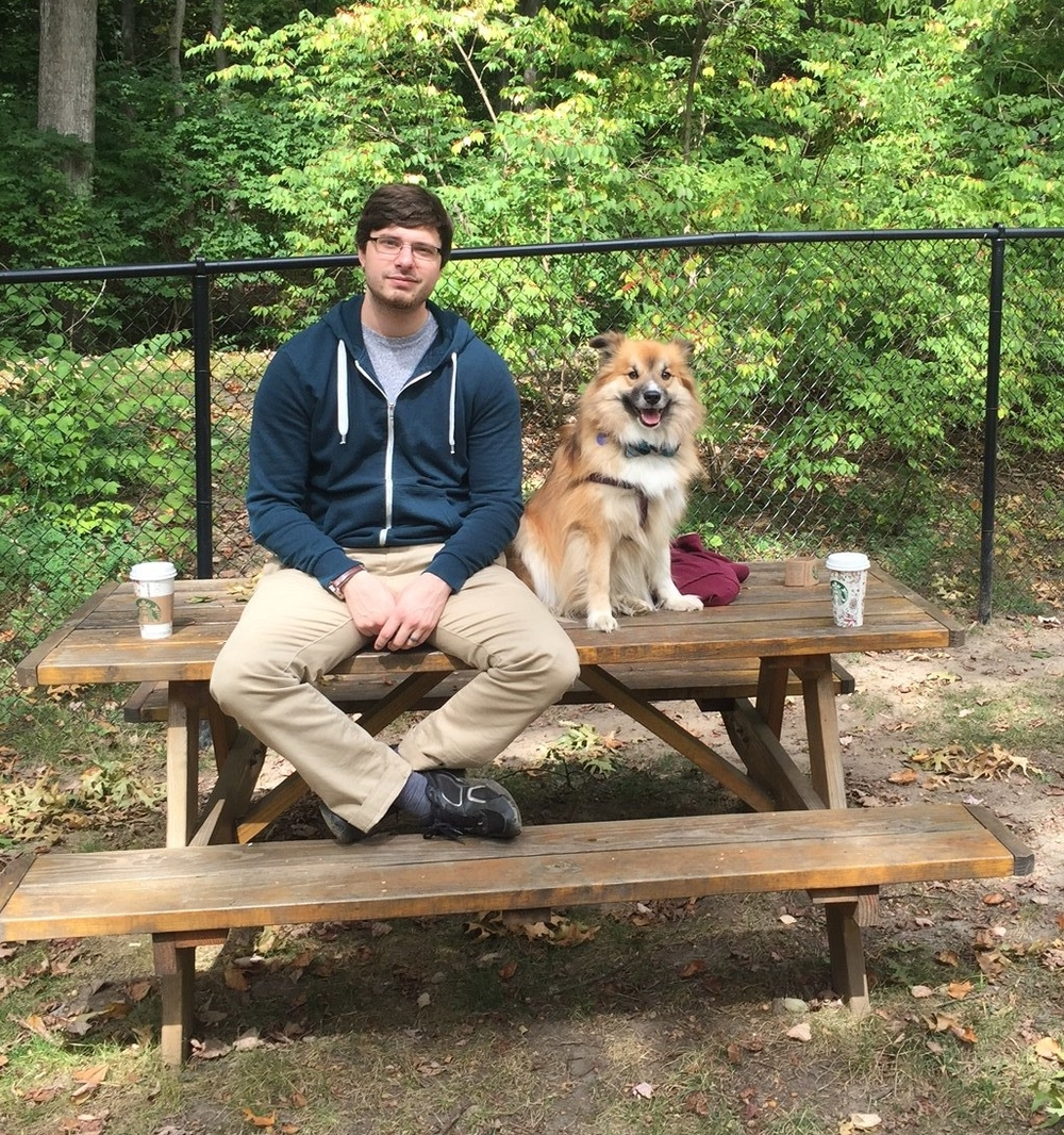 Sean and Griz at the Park.JPG