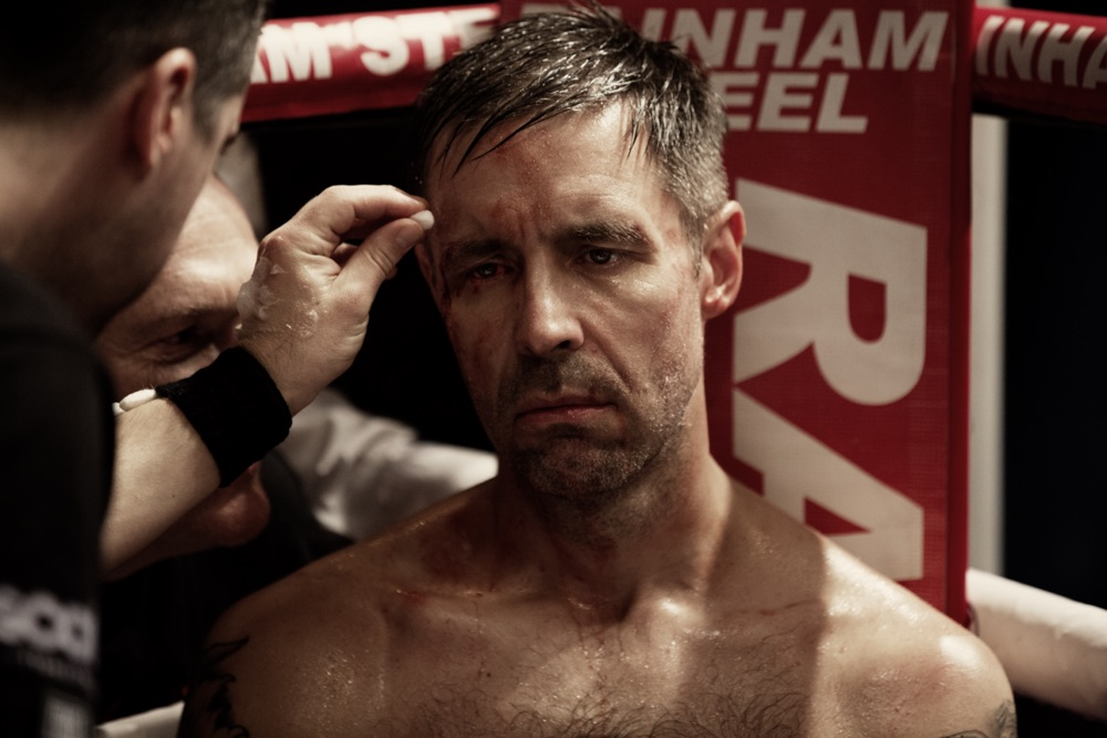Matty Burton (Paddy Considine) in Journeyman – Image by Dean Rogers