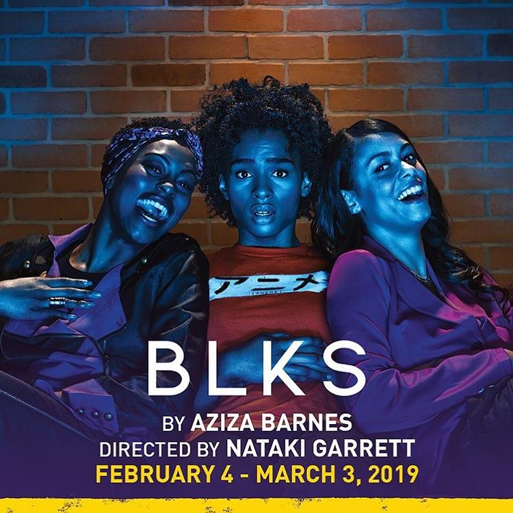 BLKS by Aziza Barnes, directed by Nataki Garrett @ Woolly Mammoth Theatre Company Feb. 4-March 3 2019