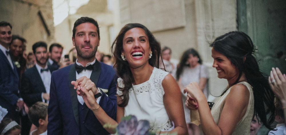 wedding in Gordes, provence