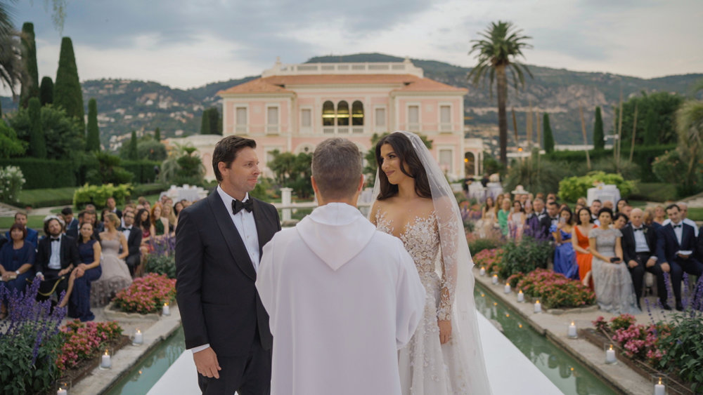 villa ephrussi rotschild wedding ceremony