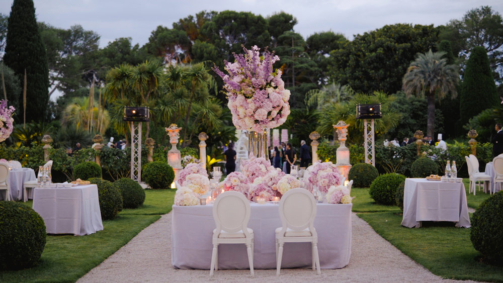 villa ephrussi rotschild wedding animation