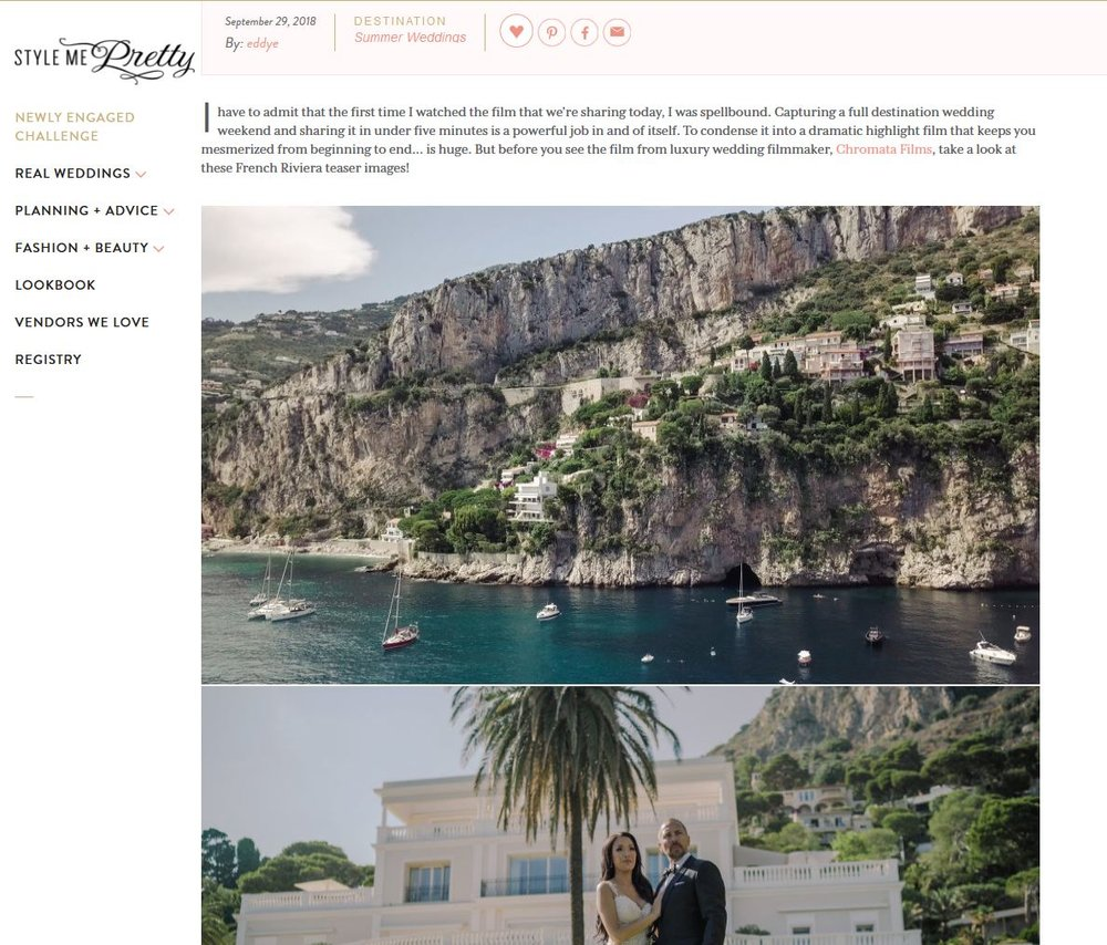 style me preatty featured wedding