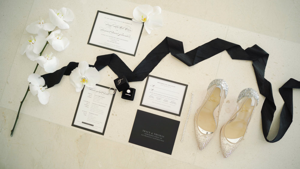 louboutin and diamonds, luxury wedding cap estel