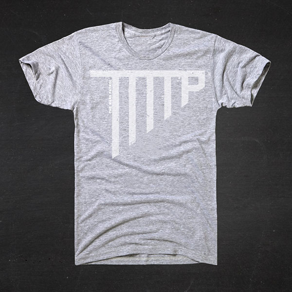Heather Grey 'TMP' Tshirt  - £9.99