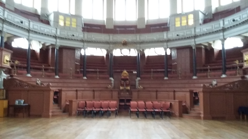 Sheldonian Theatre, Oxford: Semi-Circle, Lower Gallery and Upper Gallery