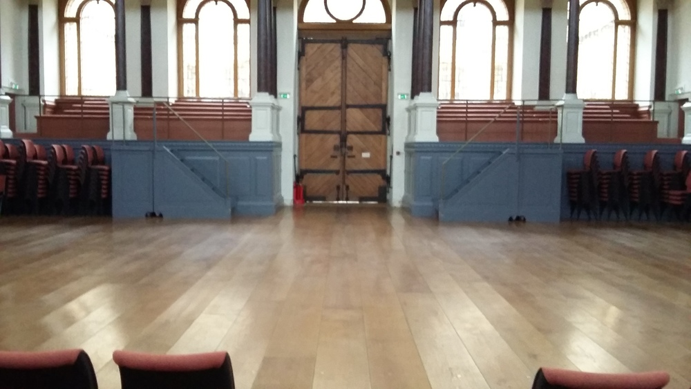 Sheldonian Theatre, Oxford : Performance Area