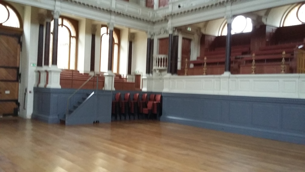 Sheldonian Theatre,Oxford: Lower Gallery and Balcony West