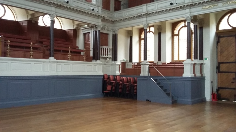 Sheldonian Theatre, Oxford: Lower Gallery and Balcony East