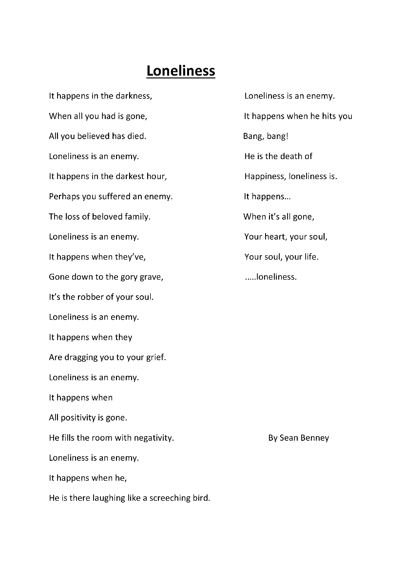 Loneliness by Sean Benney aged 9-1.png