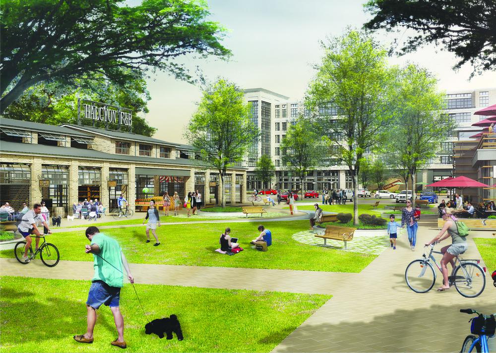 HALCYON Market Plaza