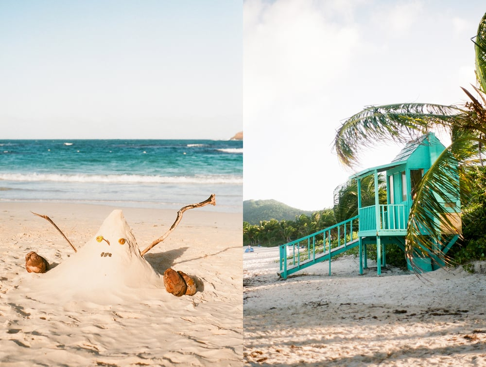 Travel and Lifestyle Photographer Dena Robles at Playa Flamenco Puerto Rico