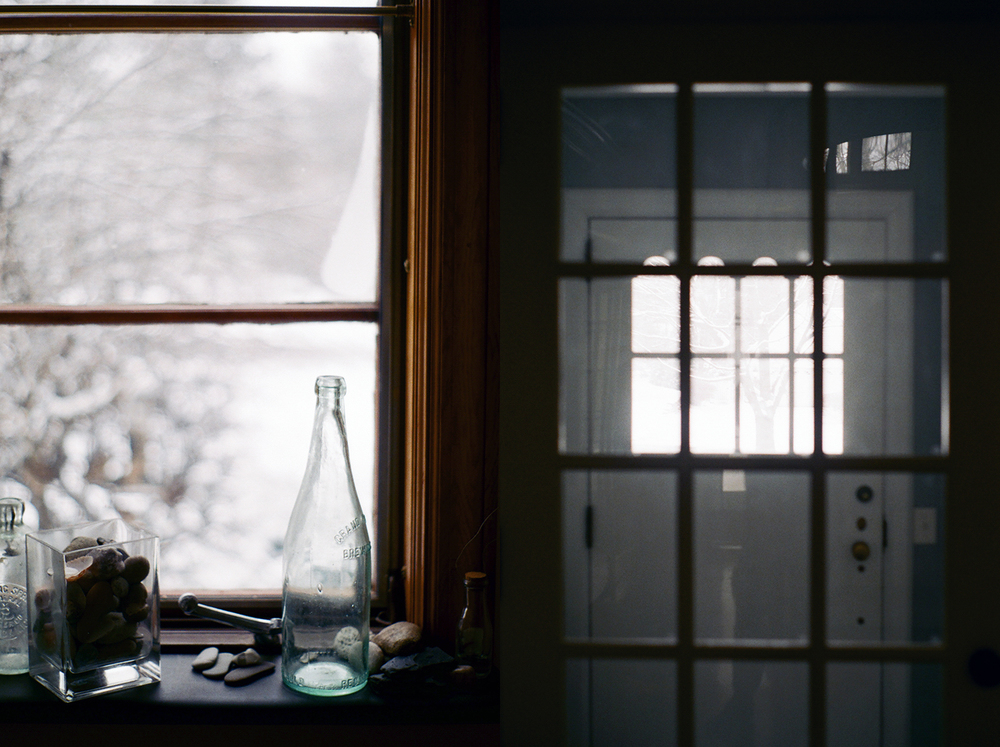 winter in michigan, editorial photography by dena robles