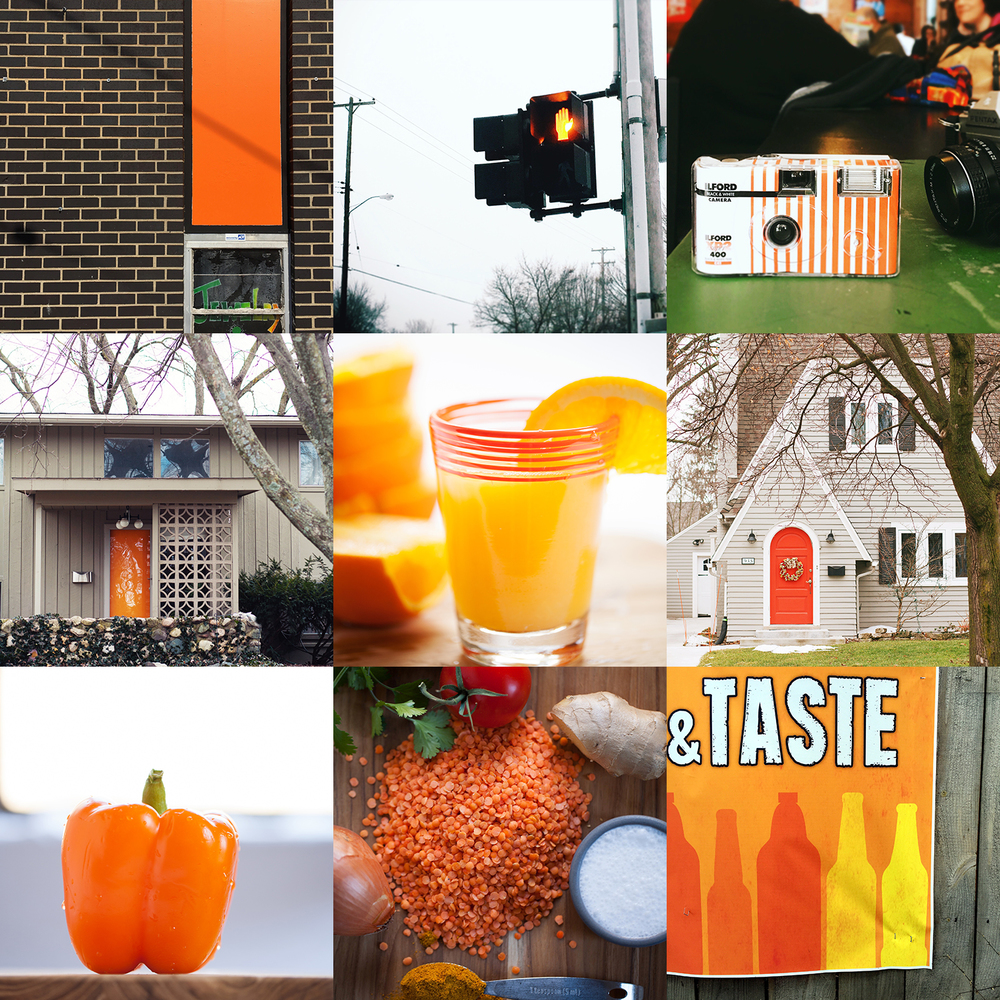 Color Colour Lovers challenge, photographing ORANGE by Dena Robles in rand Rapids Michigan