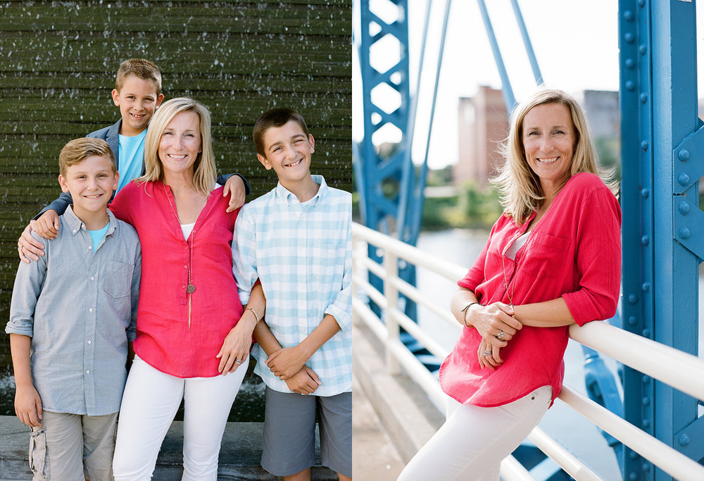Family photos downtown grand rapids