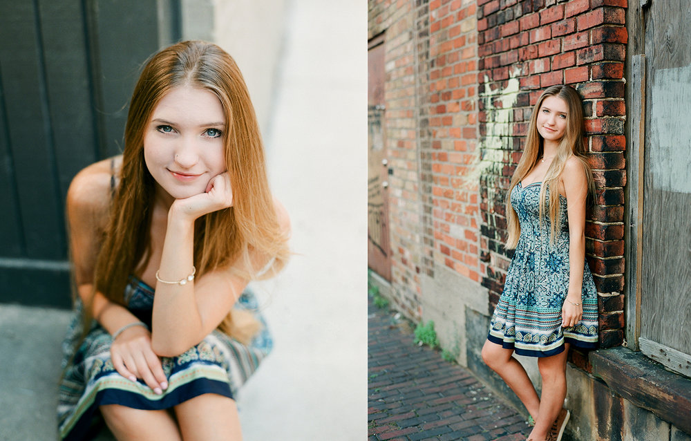 beautiful senior portraits in grand rapids michigan