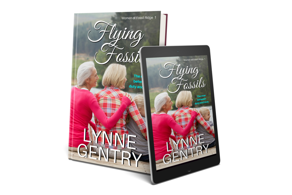 In case you missed the first book in the Women of Fossil Ridge Series,   CLICK HERE   to get  FLYING FOSSILS.