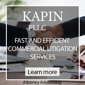 KAPIN PLLC commercial litigation New York City