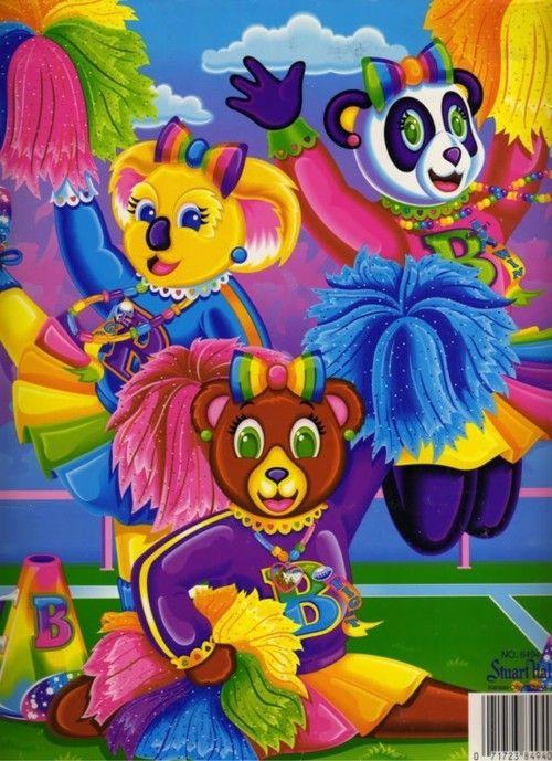 lisa frank bear cheerlead folder.jpg