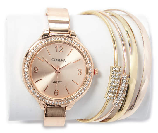 Womens+Gold+and+Blush+Stackable+Watch+and+Bracelet+Set+Silo.jpg