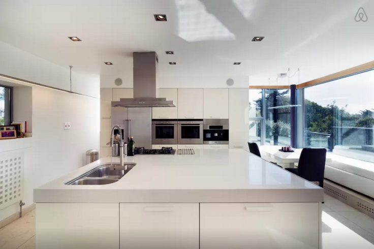 Italian designer kitchen.