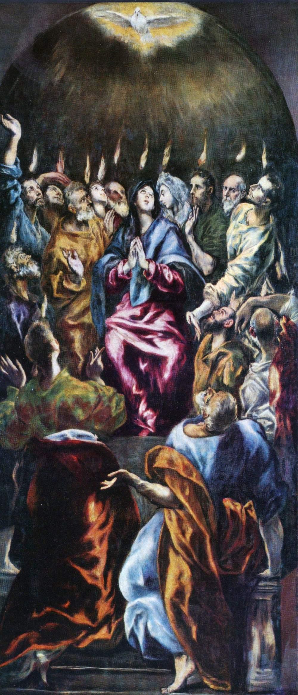El Greco, Pentecost
