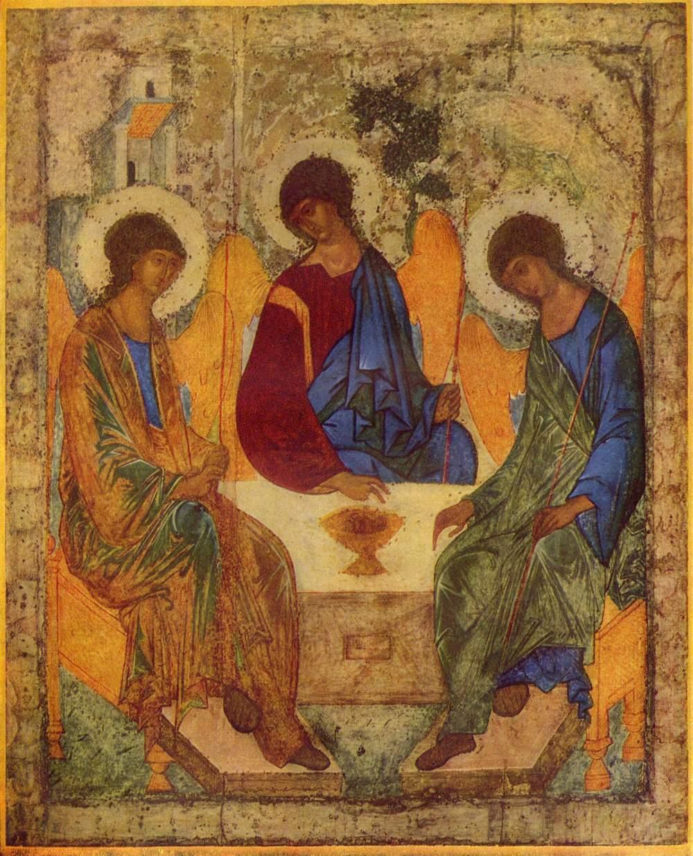 Rublev, Holy Trinity Icon