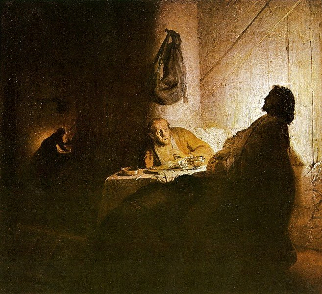 Rembrandt,  Supper at Emmaus , 1648.