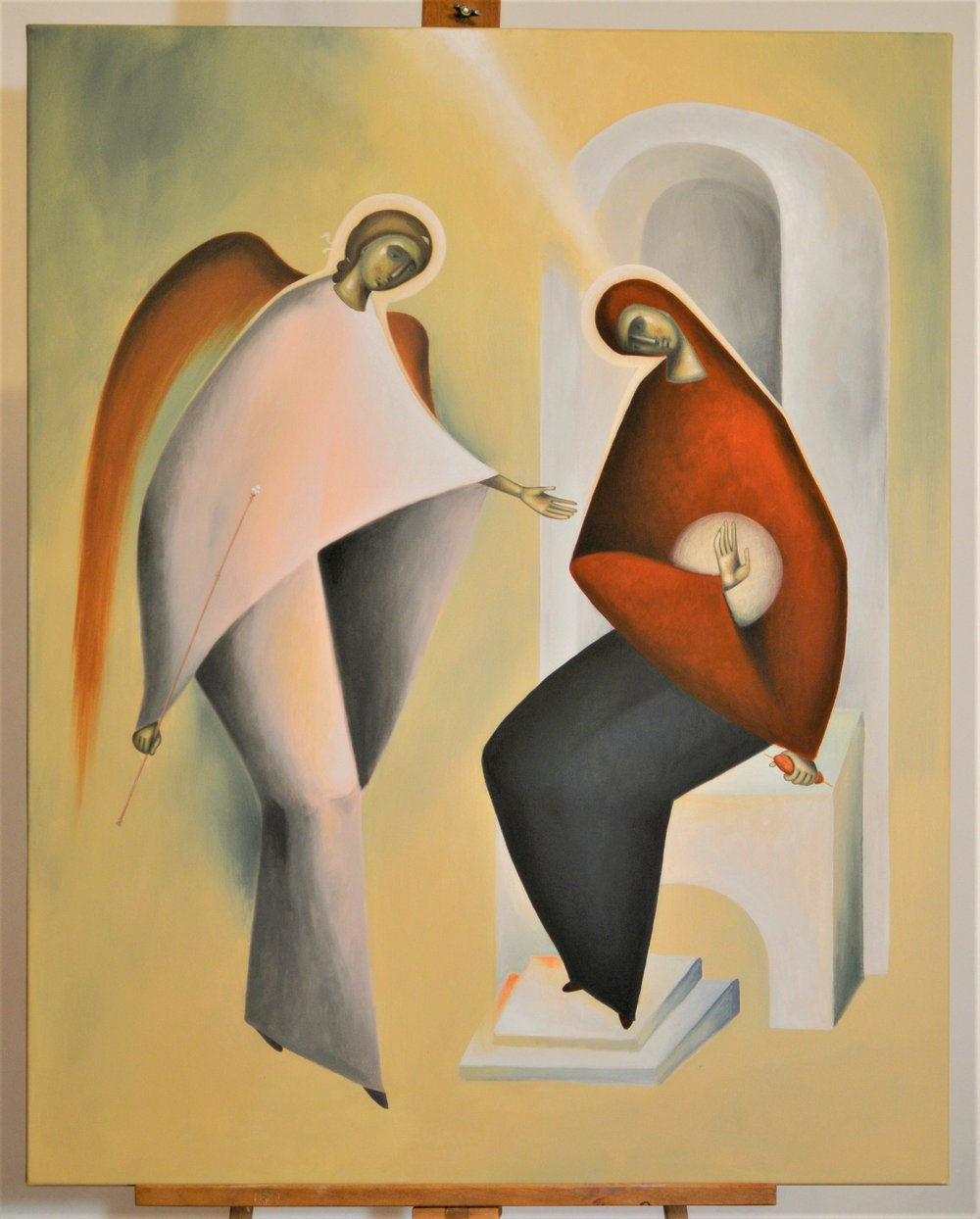 The Annunciation,  Liviu Dumetrescu