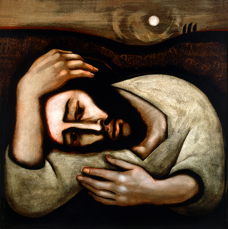 Christ in Gethsemane  by Michael D. OBrien