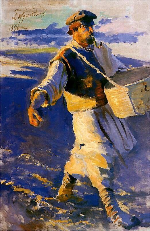 Sower , by Leon Wyczółkowski
