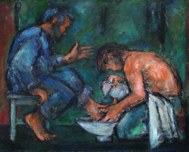 The Washing of the Feet, by Ghislaine Howard (2004),
