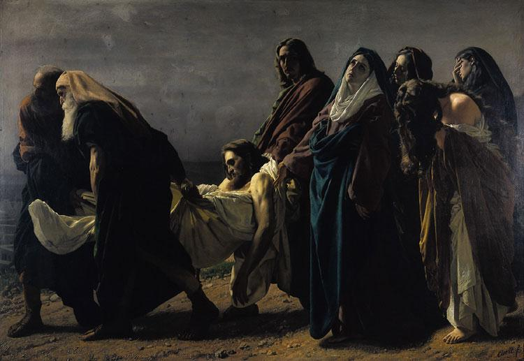 """The Depostion of Christ"" by Antonio Ciseri"